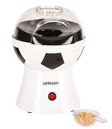 41iBrTPod+L - celexon SoccerPop SP10 Popcornmaschine im Fußball-Design | Komplett zerlegbar & einfach zu reinigen | Keine Zugabe von Öl - Popcorn Maker für fettarmes Popcorn
