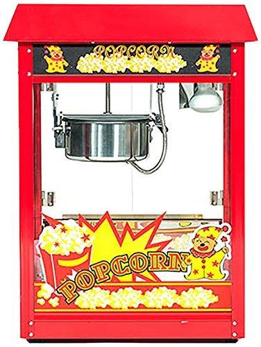 51U5+DtGyuL - Pajoma 50007 Popcornmaschine XXL ohne Wagen, rot