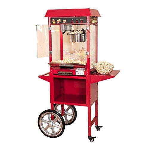 pajoma 50115 popcornmaschine kirmes xxl mit wagen 2 teilig - Pajoma 50115 Popcornmaschine Kirmes XXL mit Wagen, 2-teilig