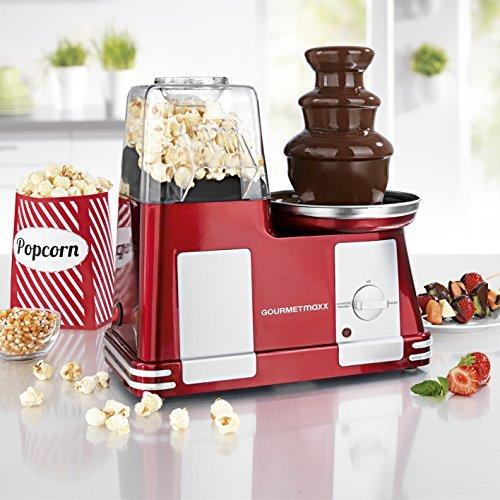 popcorn maschine schokoladenbrunnen in einem 1200w das ultimative weihnachtsgeschenk fuer jede feier und party - Popcorn-Maschine & Schokoladenbrunnen in einem! 1200W Das ultimative Weihnachtsgeschenk für jede Feier und Party