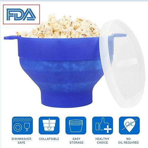popcorn schuessel mikrowelle silikon popcornmaker mini zusammenklappbar mikrowellenschuessel - Popcorn Schüssel Mikrowelle Silikon, Popcornmaker Mini Zusammenklappbar, Mikrowellenschüssel